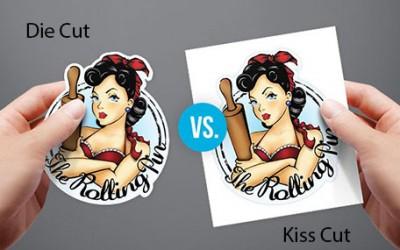 Perbedaan Stiker Kiss Cut dan Stiker Die Cut