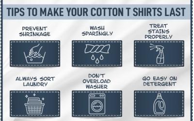 Tips Mencuci Kaos Bahan Katun Combed
