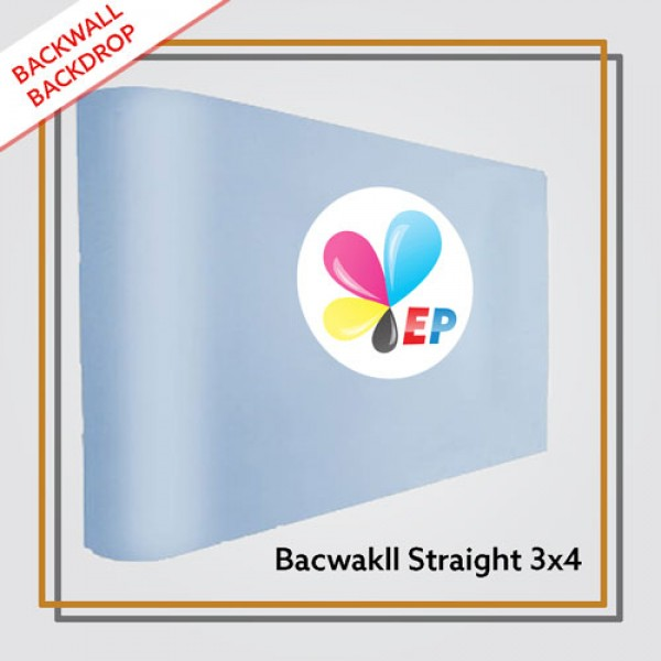 Backwall Portable 3x4 Straight