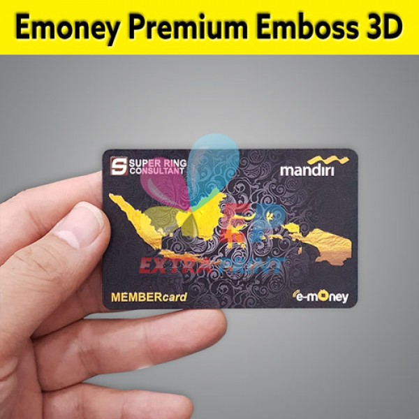 E-money Emboss 3D 1 Sisi