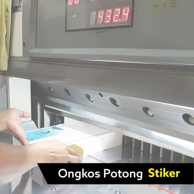Ongkos Potong Stiker