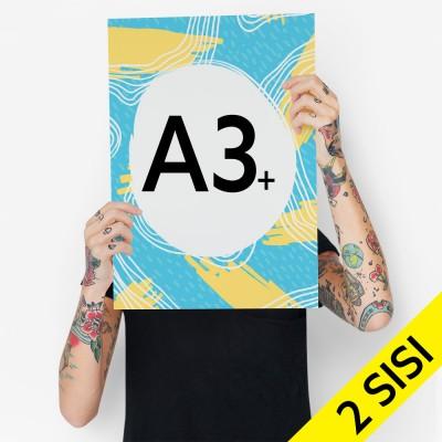 Print A3 Bahan Umum 2 Sisi