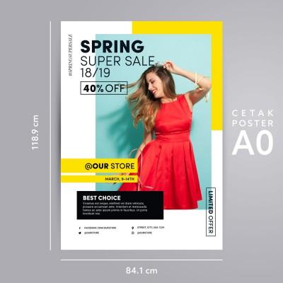 Print Poster Premium A0 Latex