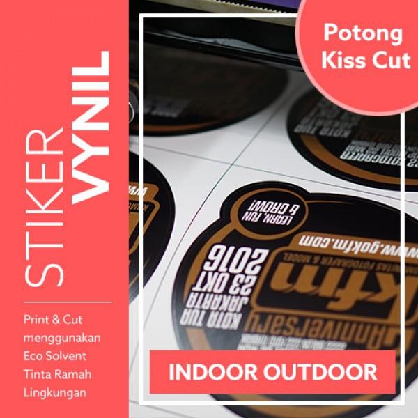 Stiker Vynil Kiss-Cut 100x100 cm