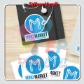 Stiker A3+ Label Kemasan, Label Makanan, Label Nama KISSCUT